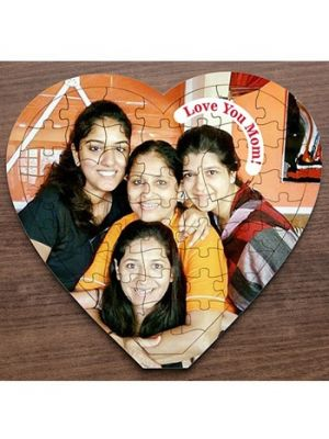 Heart puzzles for mother, Ahmedabad
