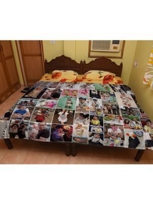 Custom made quilts for mom, Ahmedabad.