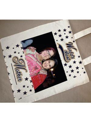 Photo Tote Bag. Design - World's Best Mom