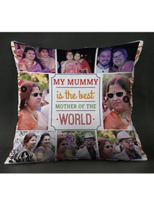 collage cushions for mom, Surat