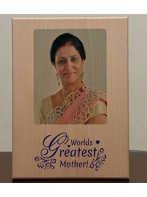 Print on wood for mother's day Ahmedabad