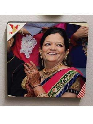 Square Photo Magnet. Mother