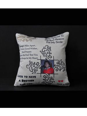 Quotes and photo pillow