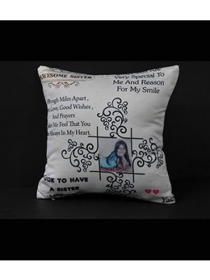 Quotes and photo pillow I