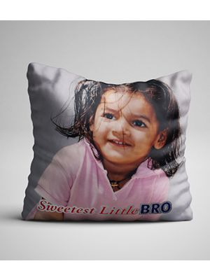 Personalized photo pillow (Little Bro)