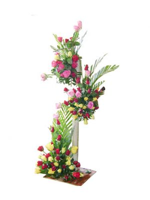 Tower of Love (100 flowers)