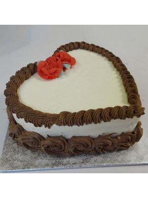 Heart shape cake in Ahmedabad, Amdavad.