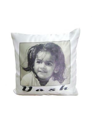 black and white Photo Pillow