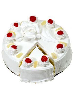 Birthday pineapple cake, Ahmedabad