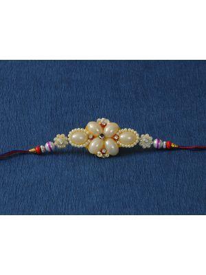 Zardosi Stone And Pearl Decoration