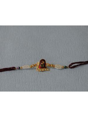 shivling rakhi With Om