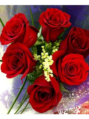 Red Roses Bunch - Ahmedabad