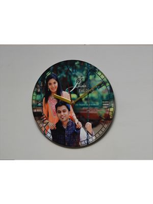 Round Photo Clock : Design I