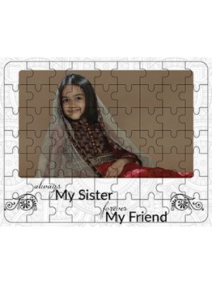 Wooden Puzzle ( Little Sister )