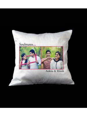 Soulmates photo pillow