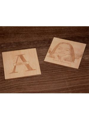 Monogram Coasters: (Engraved)
