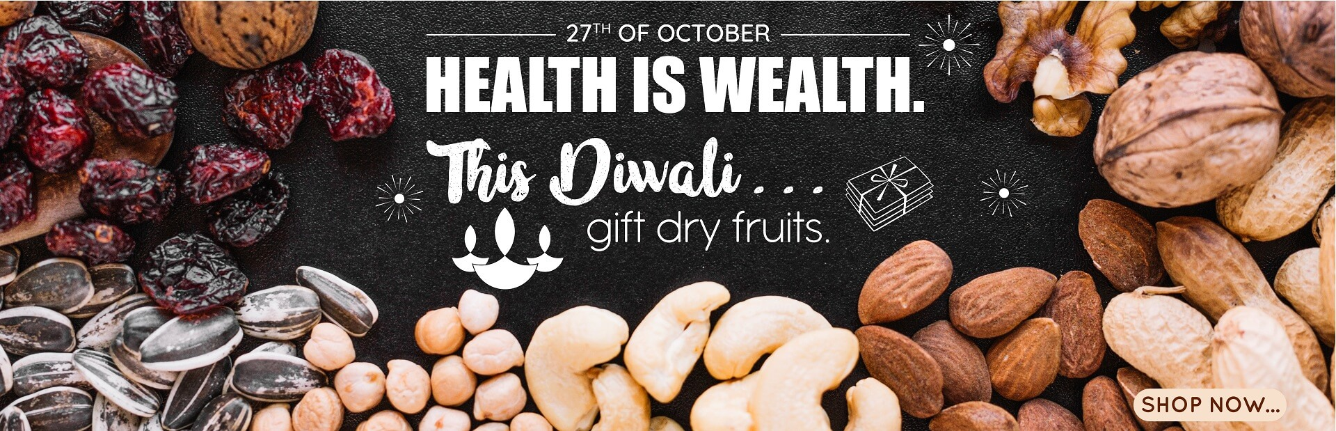 Gift DryFruits To Your Loved Ones This Diwali