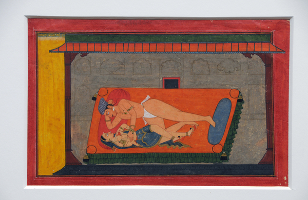 The lively and romantic school of Pahari miniaturists produced some of the finest religious or legendary scenes
